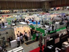 九州印刷情報産業展会場